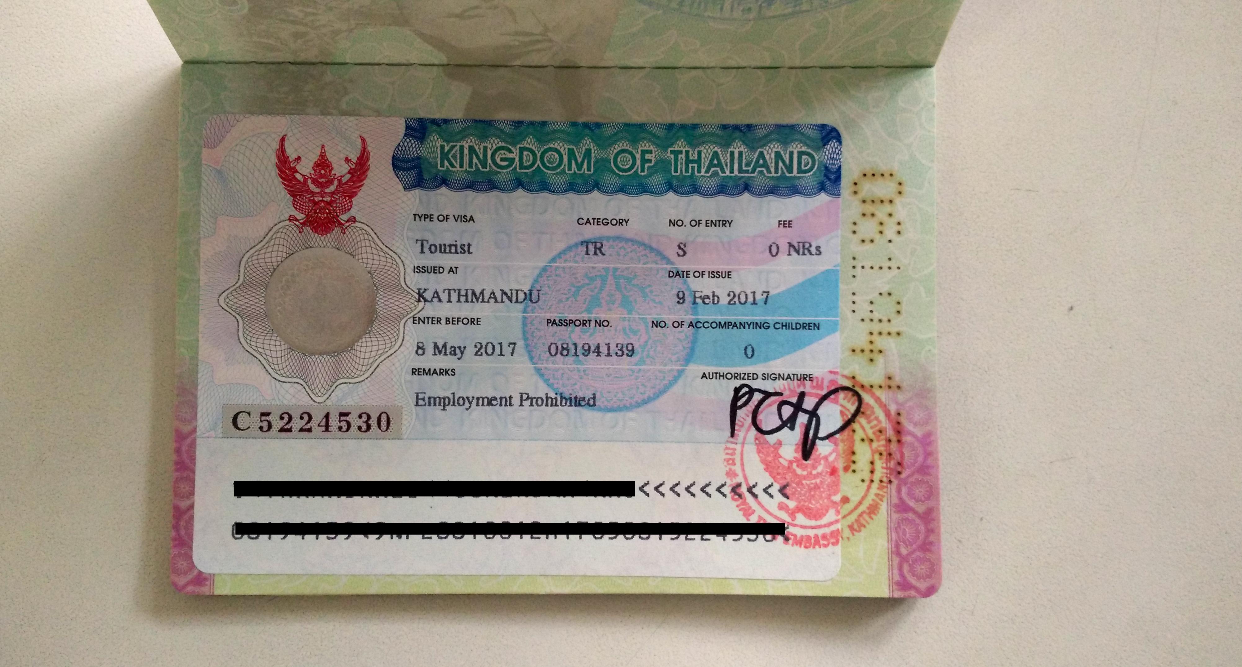 How to get Thai Visa in Kathmandu   President Travel & Tours